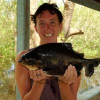 Piranhas vissen in Bolivia