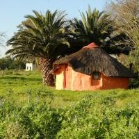 Een huis in Afrika