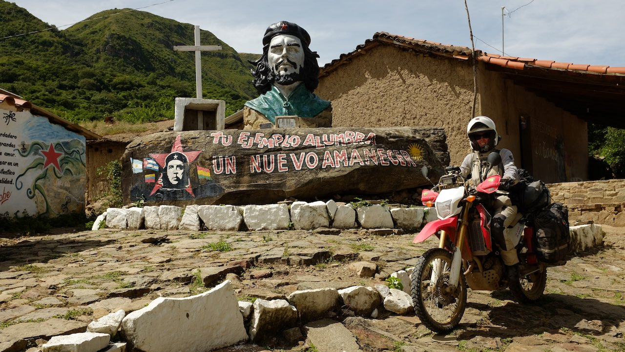 motorcycle trip around the world - Epic 3-year journey, riding 100,000+ km on 5 continents