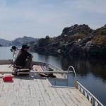 Wachten op de boot in Aswan 24